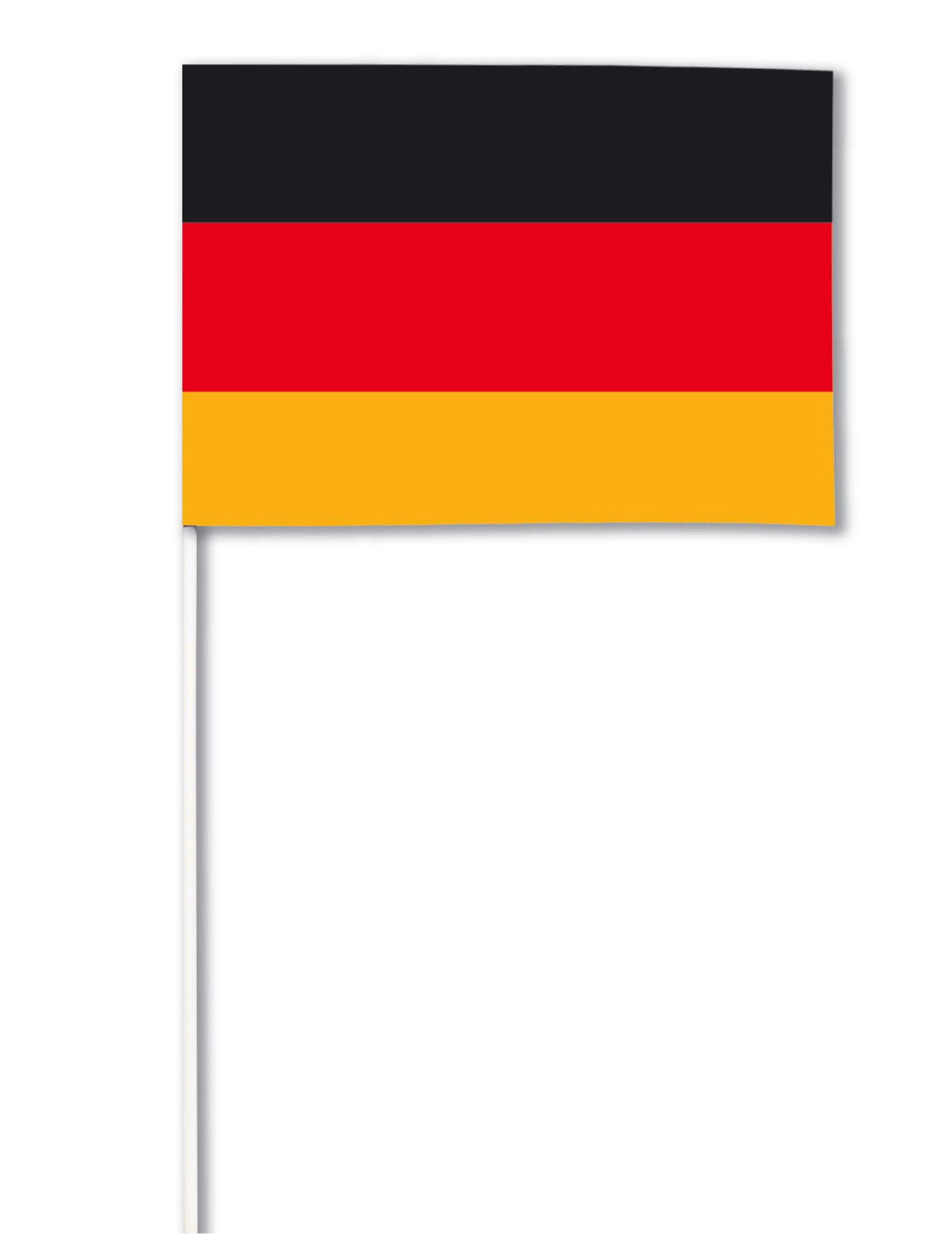 Bandiera di carta della germania su vegaooparty negozio - Bandiera della pagina di colorazione della germania ...