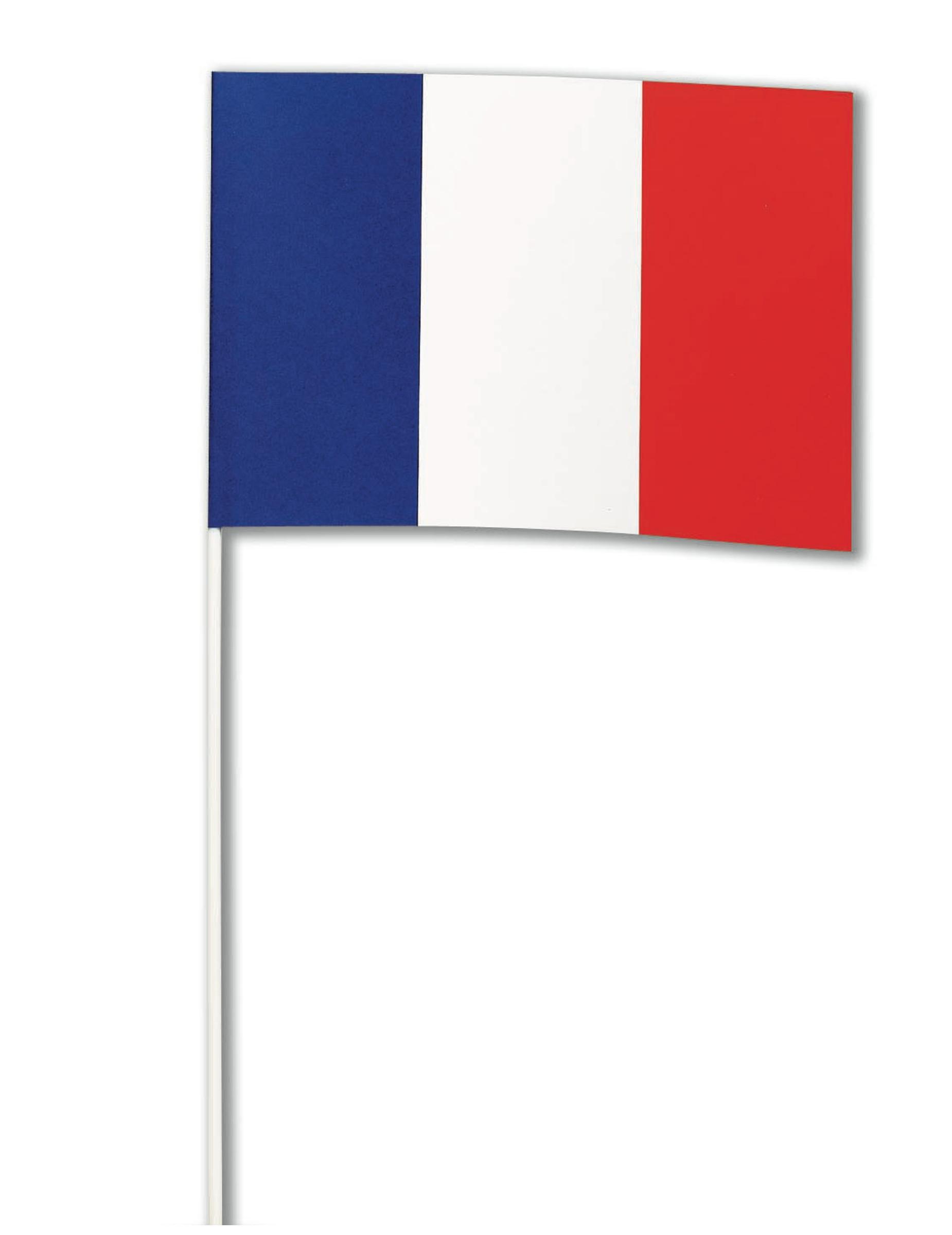 Bandiera Francese Di Carta Su Vegaooparty Negozio Di Articoli Per Feste