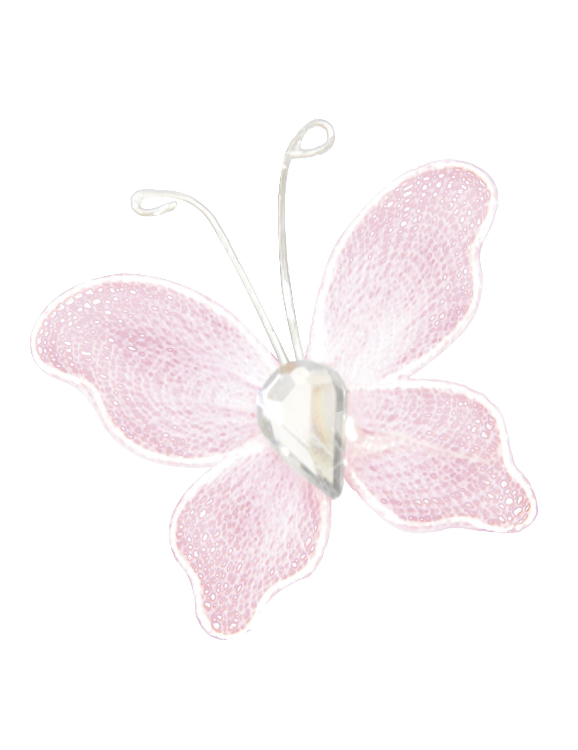 Farfalle Decorative Fai Da Te 10 mini farfalle decorative rosa su vegaooparty, negozio di articoli per  feste