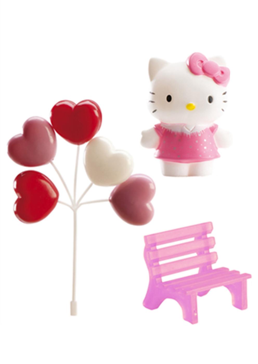 Kit decorazioni per torta Hello Kitty™ su VegaooParty, negozio di