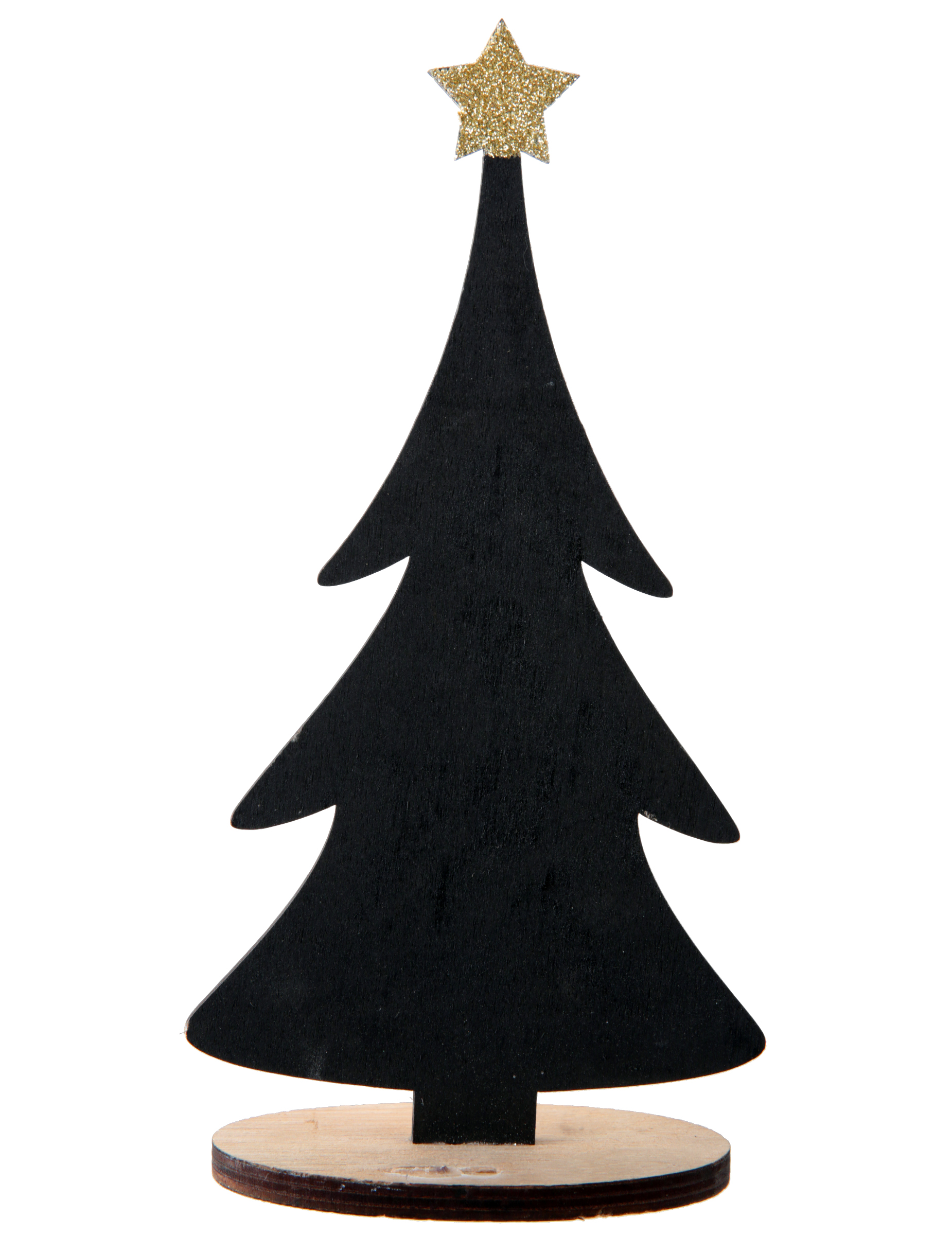 Albero Di Natale Nero.Decorazione Albero Di Natale Nero Personalizzabile Su Vegaooparty