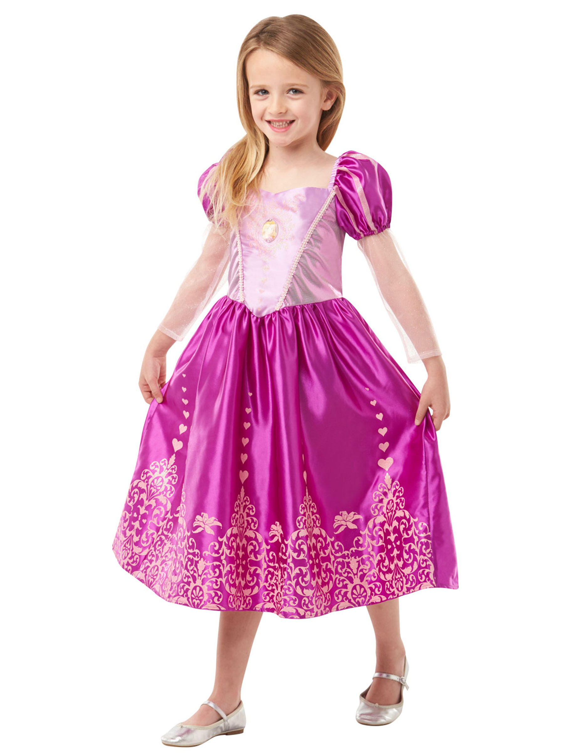 Travestimento da Principessa Raperonzolo™ per bambina su VegaooParty ... 1d577c2b406
