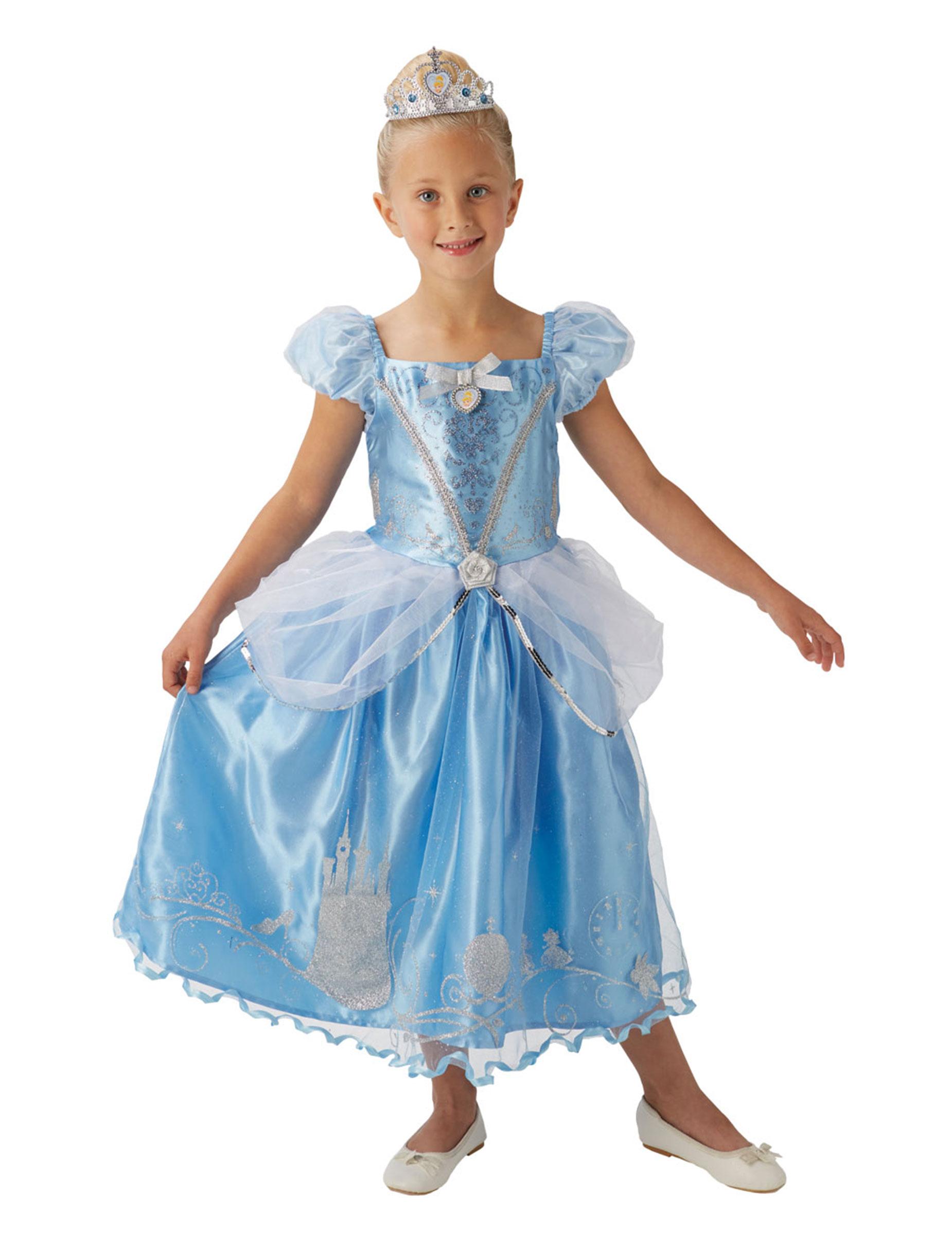 Travestimento da principessa Cenerentola™ con corona per bambina su ... ae67e56d3a1