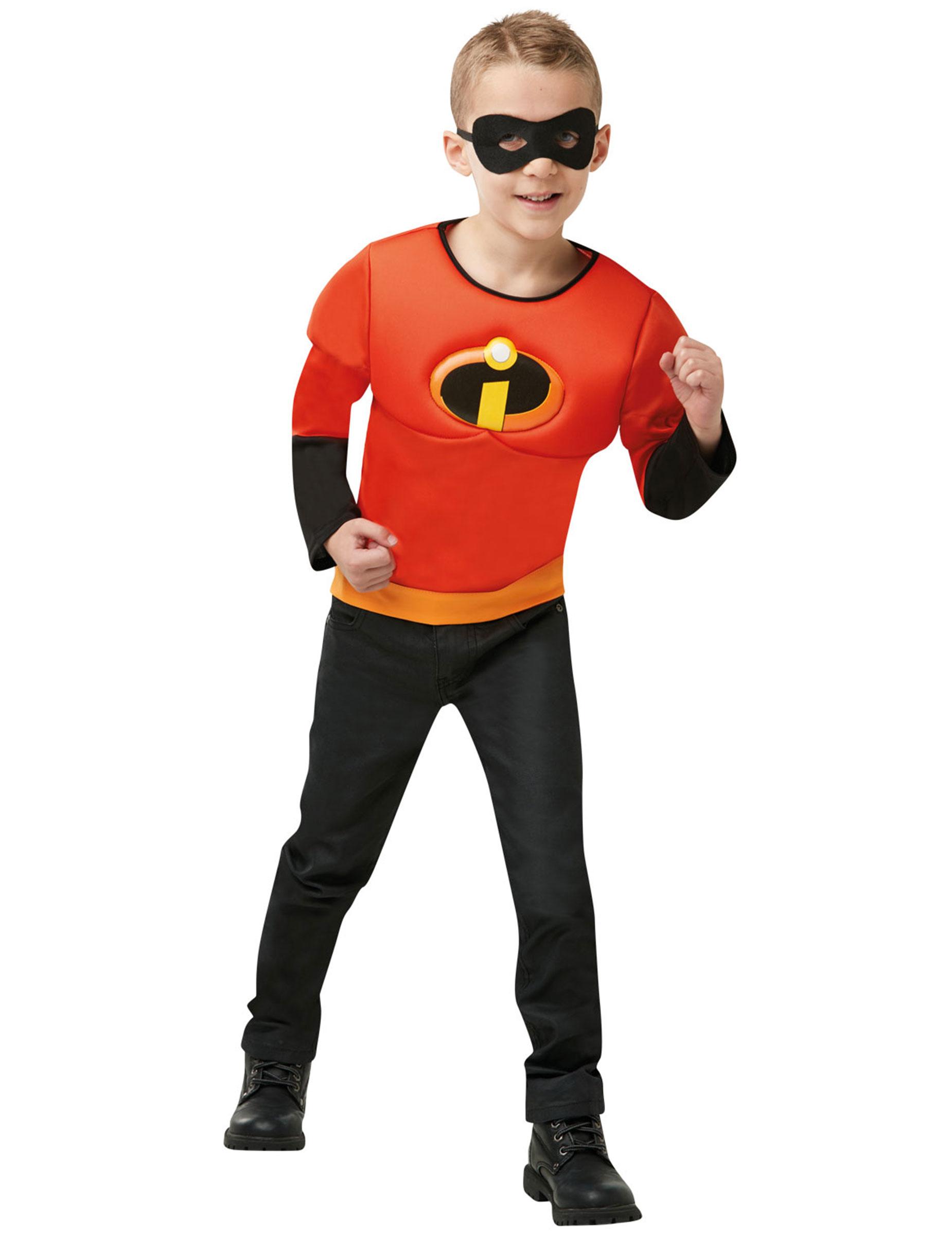Kit maglia e maschera Gli Incredibili™ per bambino su VegaooParty ... 47927dda2cc