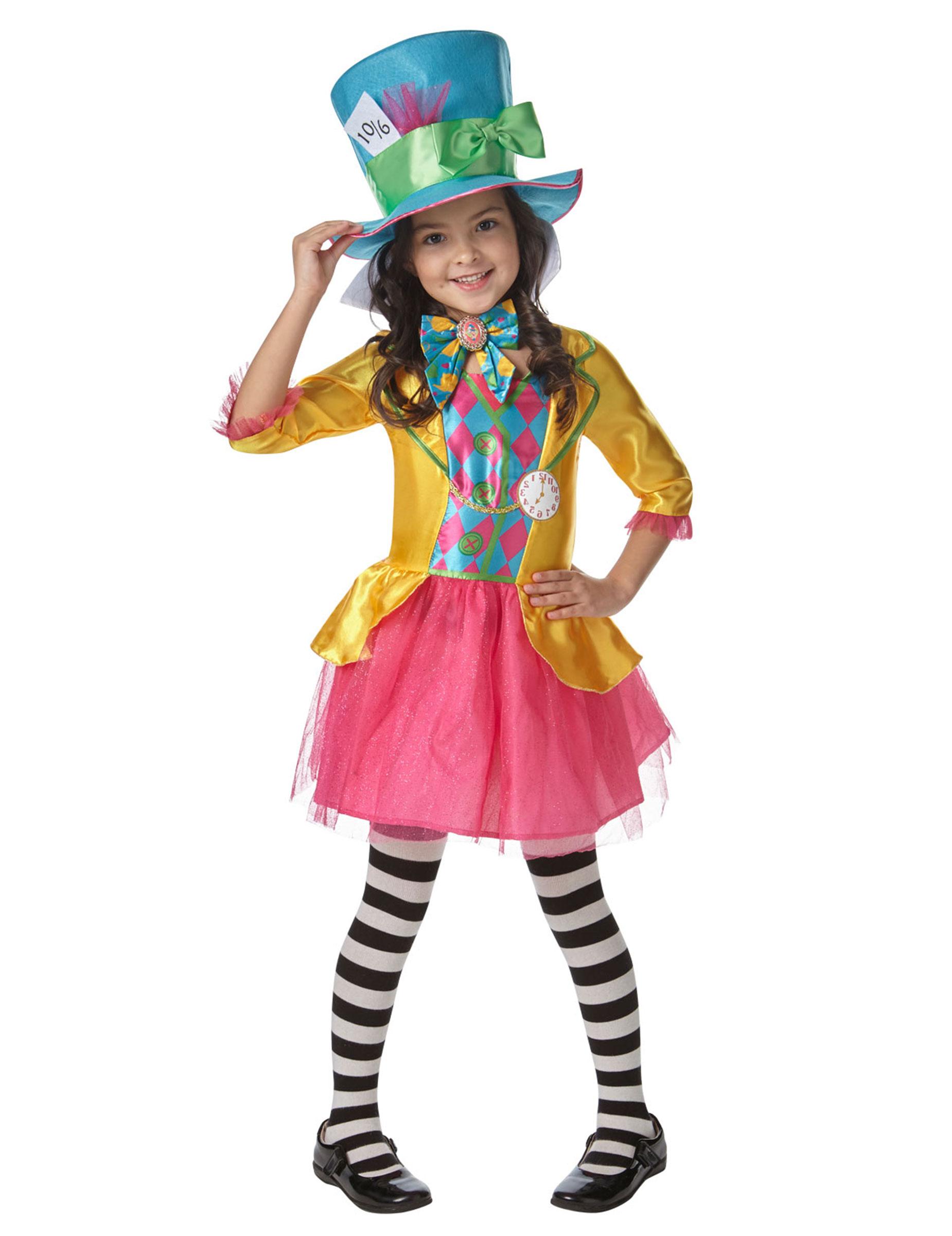 7a2af78b8fdf Costume da Cappellaio Matto™ bambina su VegaooParty, negozio di ...