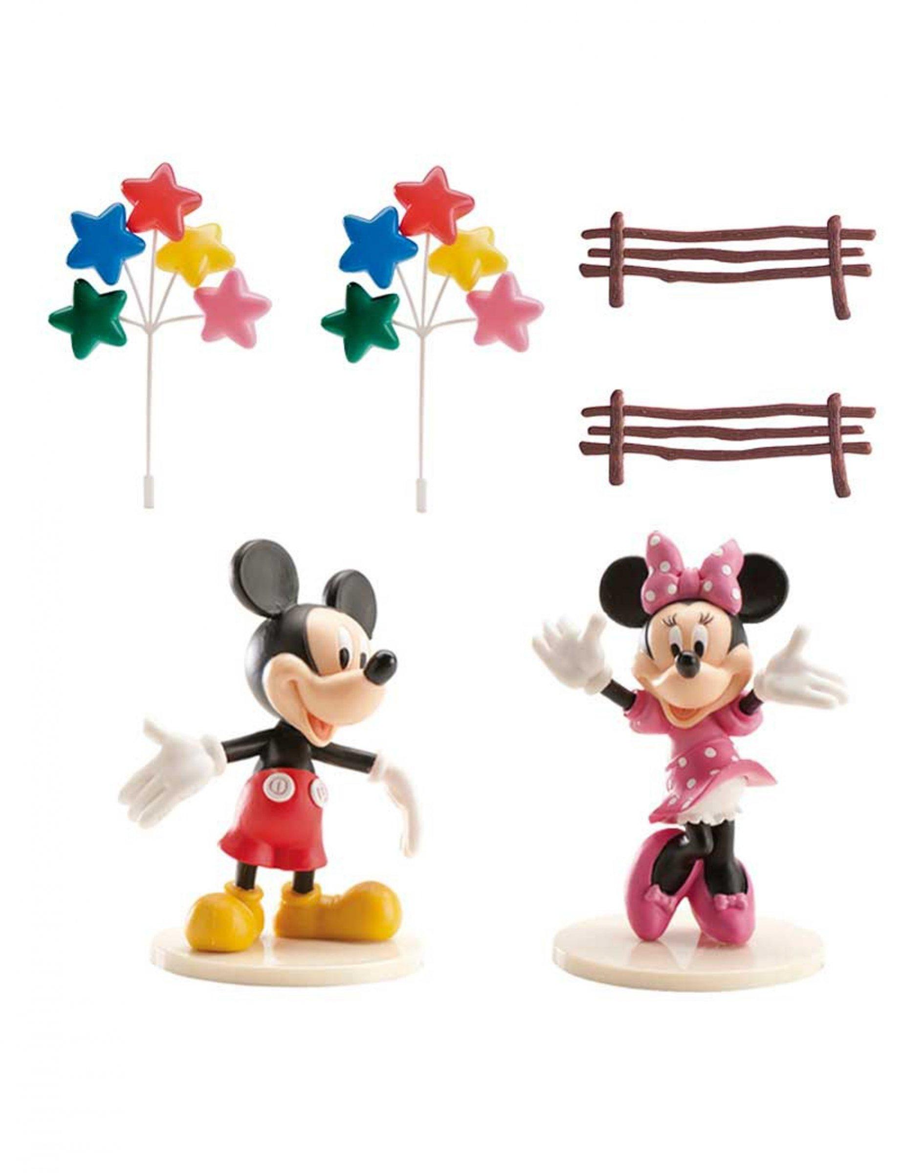 Kit di decorazioni per torta Topolinoe Minnie™ su ...