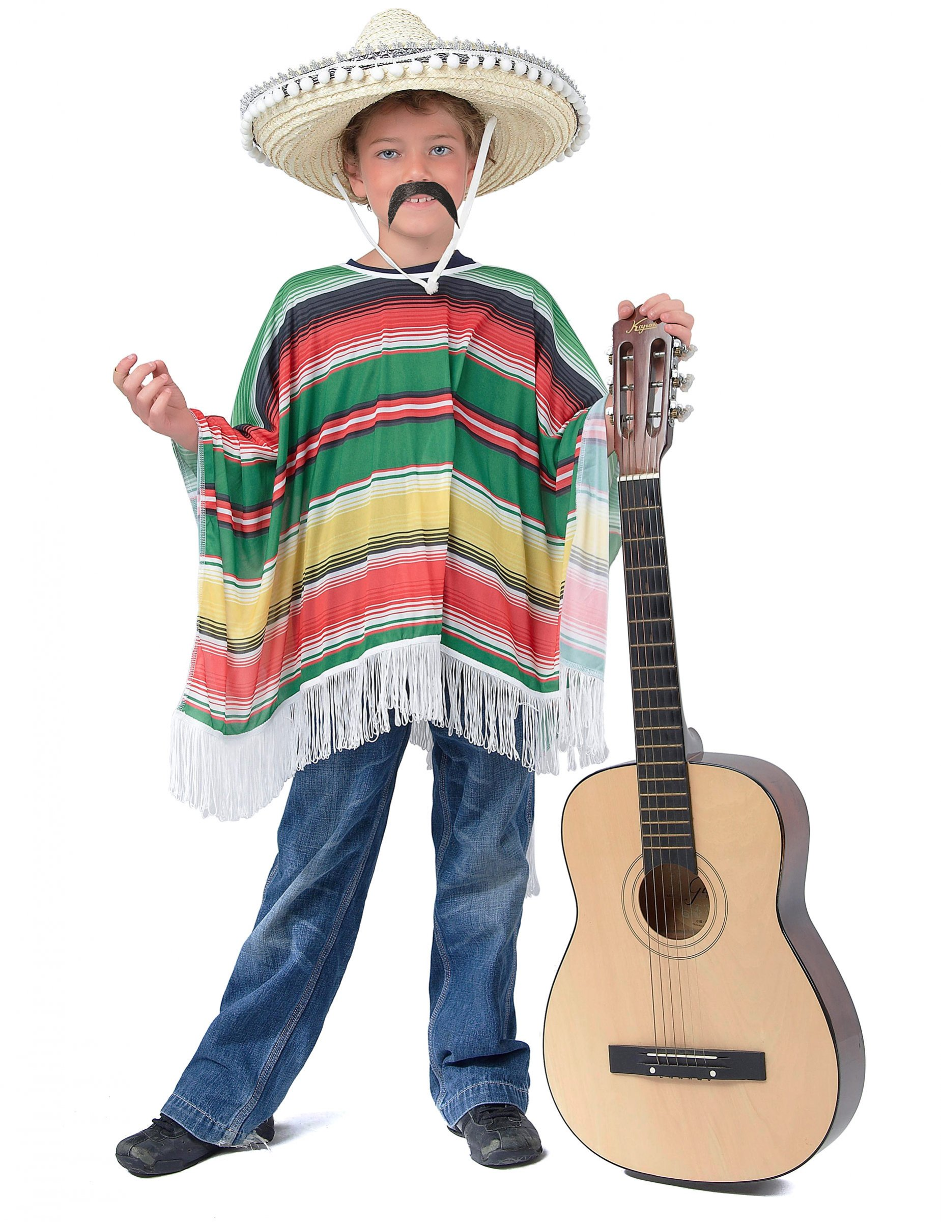 Poncho messicano per bambino su VegaooParty b7204ad1ad36