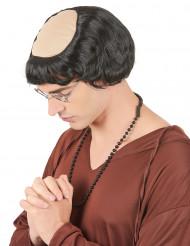 Parrucca da monaco per uomo