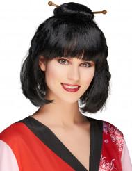 Parrucca nera da donna cinese