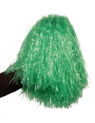 Pon pon verde metallico