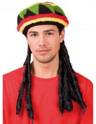 Cappello con rasta per adulto