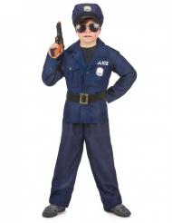 Costume da poliziotto per bambino deluxe