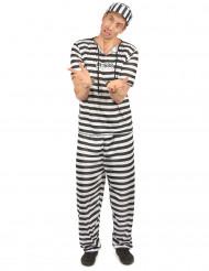 Costume da carcerato uomo