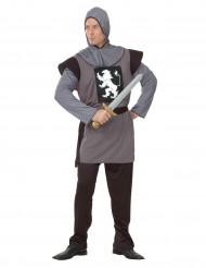 Costume medievale da cavaliere adulto