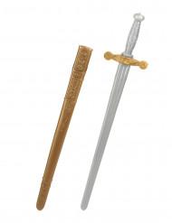 Spada e fodero da cavaliere medievale.