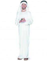 Costume bianco da principe arabo per bambino