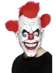 Maschera terrificante da clown Halloween