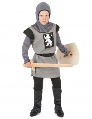 Costume da cavaliere grigio per bambino