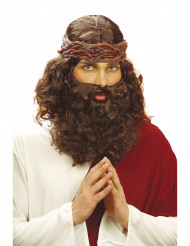 Parrucca e barba da profeta