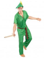 Costume da ragazzo dell'isola immaginaria adulto