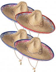 Cappello di paglia stile messicano da adulto