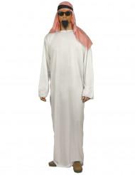 Costume da sceicco arabo per adulto