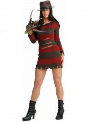 Travestimento da Freddy Krueger™ per donna