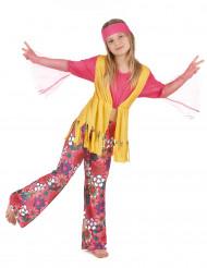 Costume hippie colorato per bambina