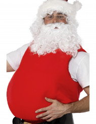Pancia da Babbo Natale per adulto