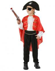 Costume da capitano dei pirati per bambino