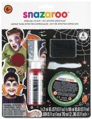Kit effetti speciali che riproducono ferite Halloween Snazaroo