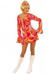 Costume disco colorato da donna