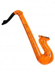Saxofono arancione gonfiabile