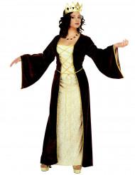 Costume da principessa medievale da donna