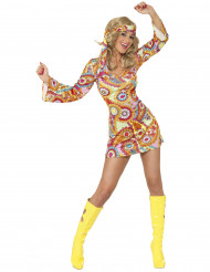 Costume corto hippie per donna
