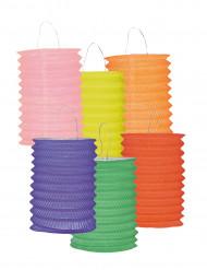 12 lanterne colorate
