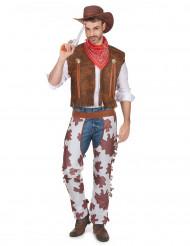 Costume da cowboy adulto