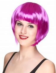 Parrucca corta viola da donna