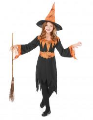 Costume strega bicolore bambina