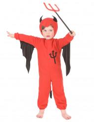 Costume da diavolo Halloween bambino