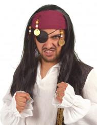 Parrucca da pirata da donna
