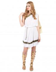 Costume corto da dea romana per donna