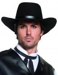 Cappello da cowboy per adulti con rifiniture di lusso