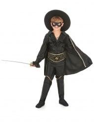 Costume da giustiziere in maschera per bambino