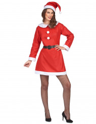 Costume con vestito Mamma Natale donna