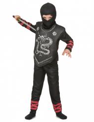 Costume ninja con drago per bambino