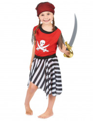 Costume piratessa da bambina