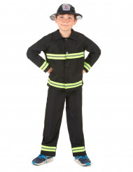 Travestimento pompiere bambino