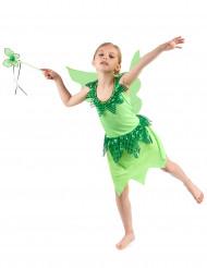 Costume da fatina verde per bambina