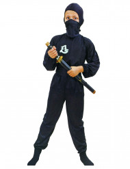Travestimento ninja commando nero per bambino